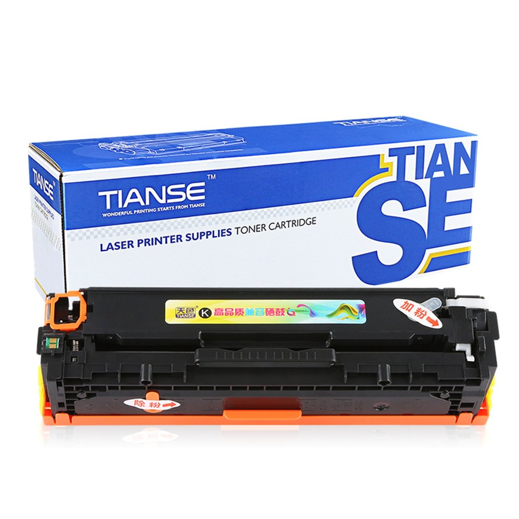 TIANSE CE320A Compatible Copier Toner Cartridge Non-OEM F...