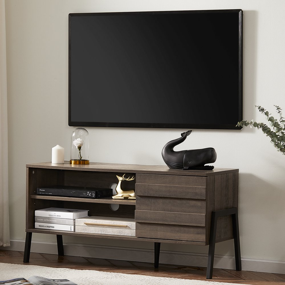 """midcentury modern tv stand for tvs up to 50"""" media"""