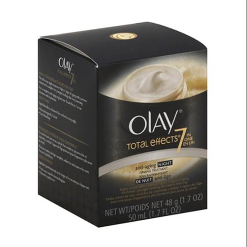 OLAY Total Effects 7-in-1 Anti-Aging Booster Night Firming Cream 1.70 oz (Pack of 2)