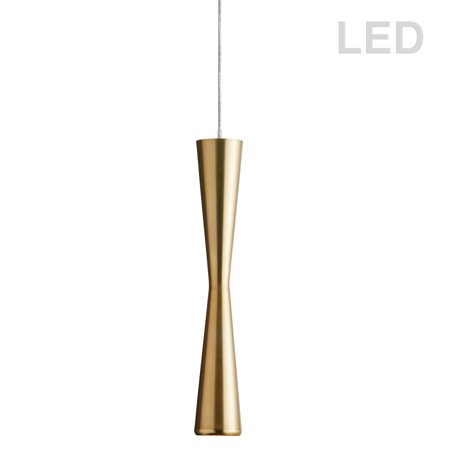 Dainolite 5W LED Pendant, Vintage Bronze Finish