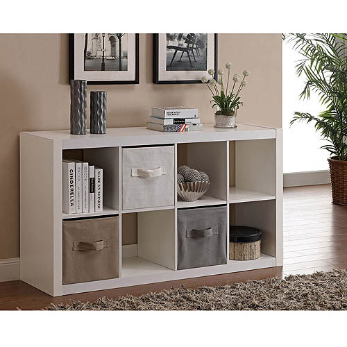 Better Homes and Gardens 8Cube Organizer Multiple Colors