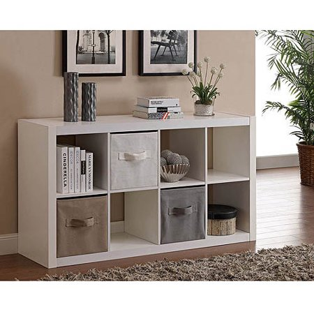 better homes and gardens 8 cube organizer multiple colors walmartcom - Better Home And Garden
