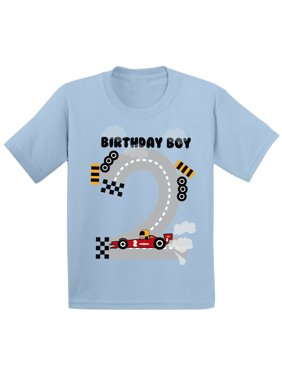 bcf3c96e Product Image Awkward Styles Birthday Boy Race Car Toddler Shirt Race Car  Birthday Party for Toddler Boys Funny