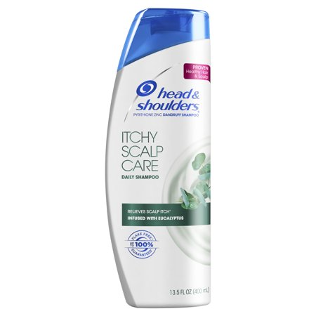 Head and Shoulders Itchy Scalp Care Daily-Use Anti-Dandruff Shampoo, 13.5 fl (Best Cream For Itchy Scalp)