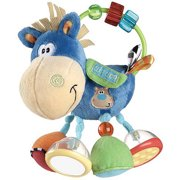Playgro Toy Box Clip Clop Activity Rattle Baby Rattling and Teething Toy, 3 Months and Up