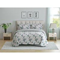 Oh Hello, (2) Piece Reversible Comforter Set - Llama Love - Twin