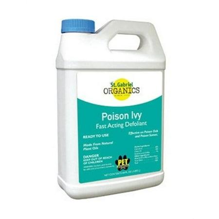 St Gabriel Organics 40031-6 Poison Ivy Defoliant Rtu