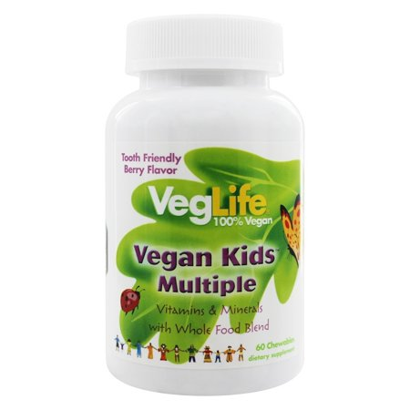 VegLife - Vegan Kids Multiple Berry - 60 Chewable