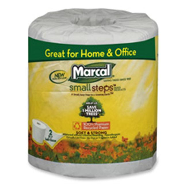 Marcal Paper Mills- Inc. MRC6079 Bath Tissue- 2-Ply- 336 Sheets-Roll- 48 Rolls-CT- White