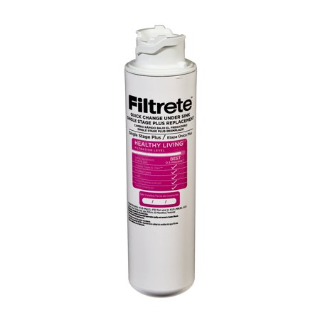 Filtrete Under Sink System Filter with Dedicated Faucet (Sediment, CTO, Cysts, Lead, Pharmaceuticals & Select VOCs) ()