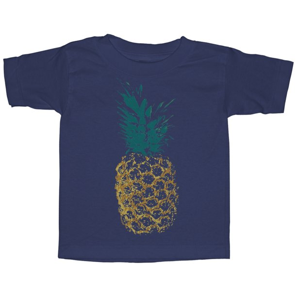 Toddler's Distressed Pineapple T-Shirt
