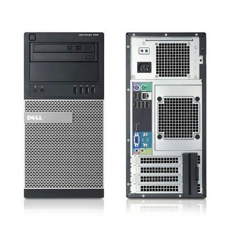 Dell OptiPlex 990, Minitower, Intel Core i7-2600 up to 3.80 GHz, 16GB DDR3, NEW 1TB SSD, DVD-RW, Wi-Fi, USB to HDMI Adapter, NEW Keyboard + Mouse, Microsoft Windows 10 Home 64-bit - image 2 de 3