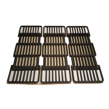 Set of Three Porcelain coated Cast Iron cookings grids for Gas Grills from Broil-Mate, Broil King and -