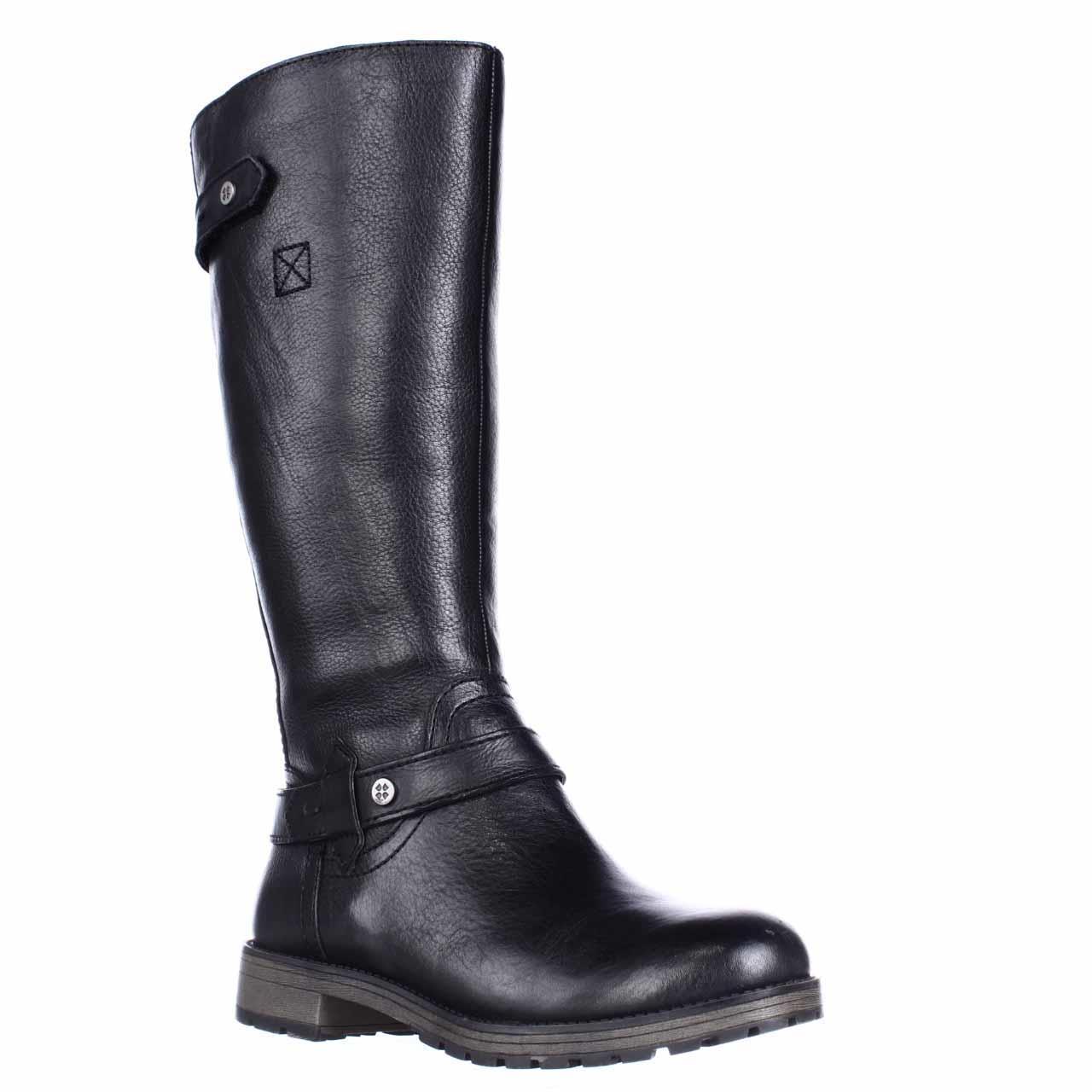 Womens naturalizer Tanita Wide Calf Lug Sole Riding Boots...