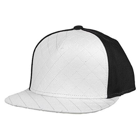 Flat Fitty Wiz Khalifa Quilted Cap Hat, White and - Wiz Khalifa Halloween Beat
