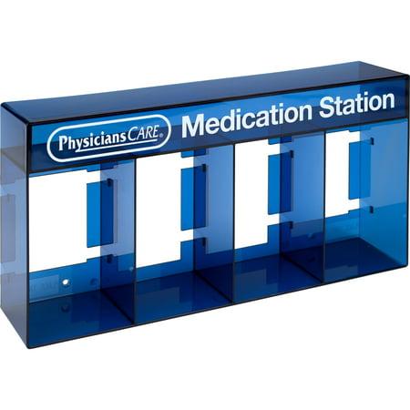 PhysiciansCare, ACM90794, Medication Station Holder, 1 Each,
