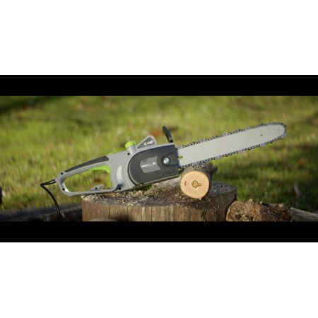 "Earthwise CS31014 14"" 9-Amp Corded Electric Chain Saw"