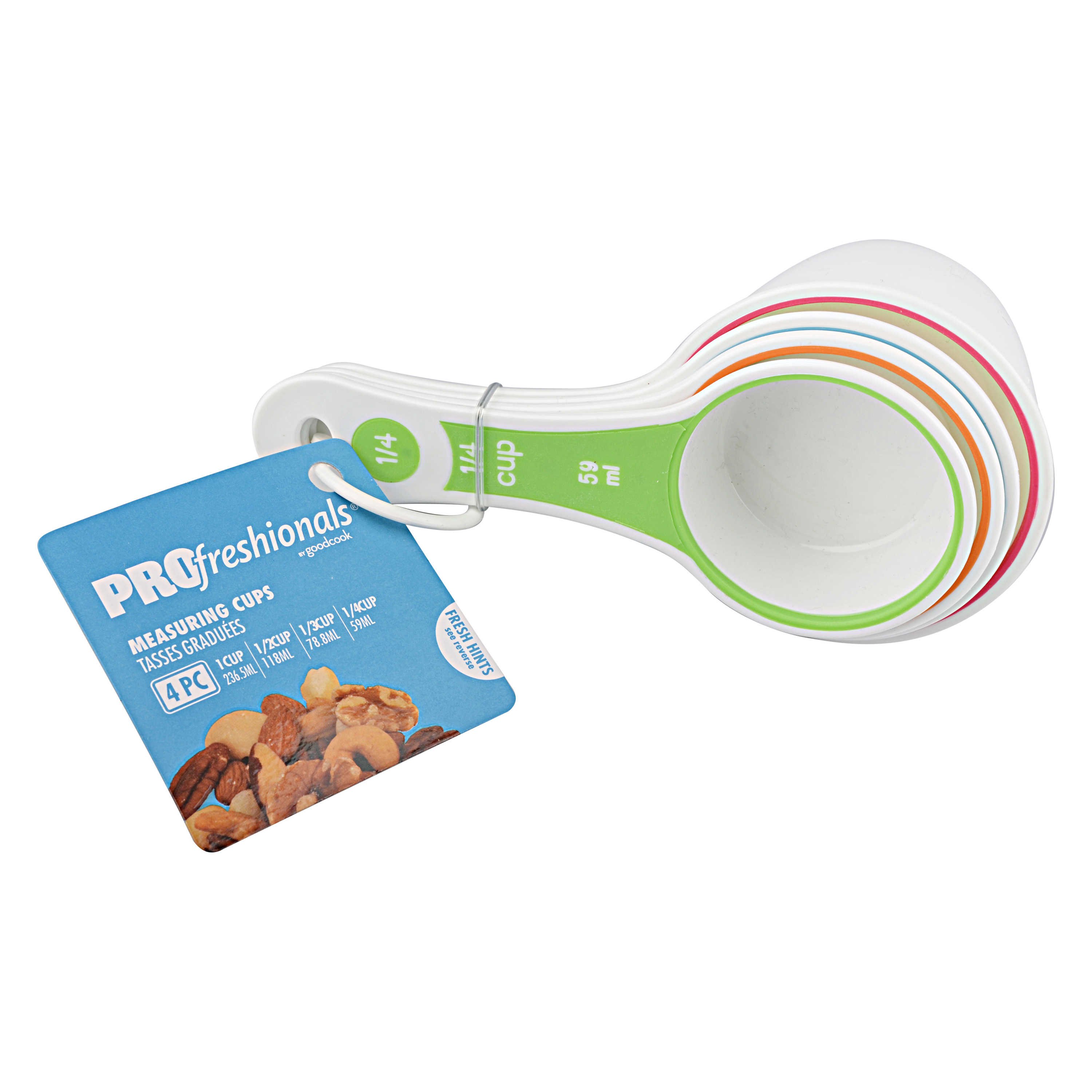 PROfreshionals Measuring Cups, 4 Piece