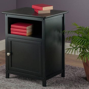 Winsome Trading Company 1-Door Nightstand