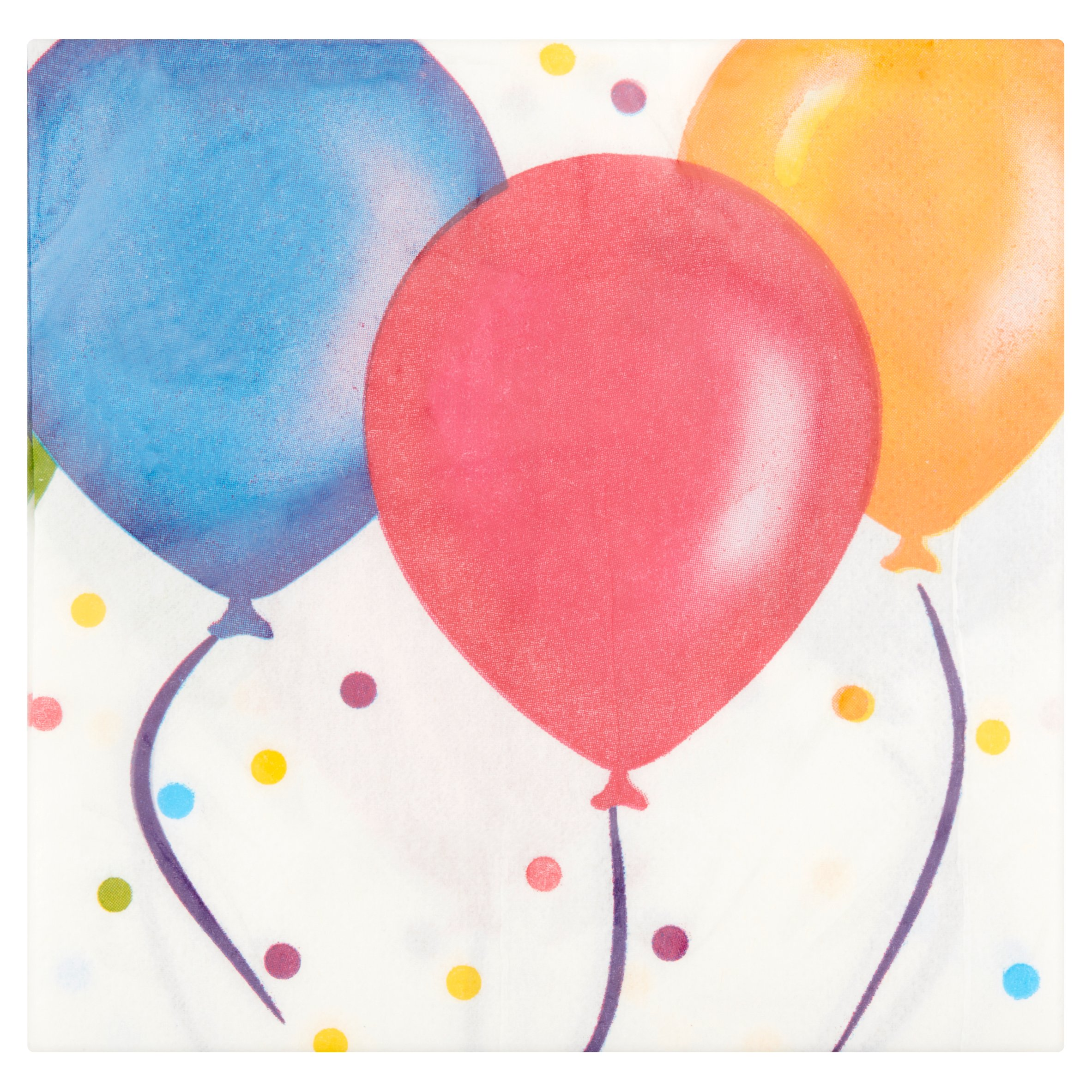 Birthday Balloon Beverage Napkins, 20-Pack by Wal-Mart Stores, Inc.