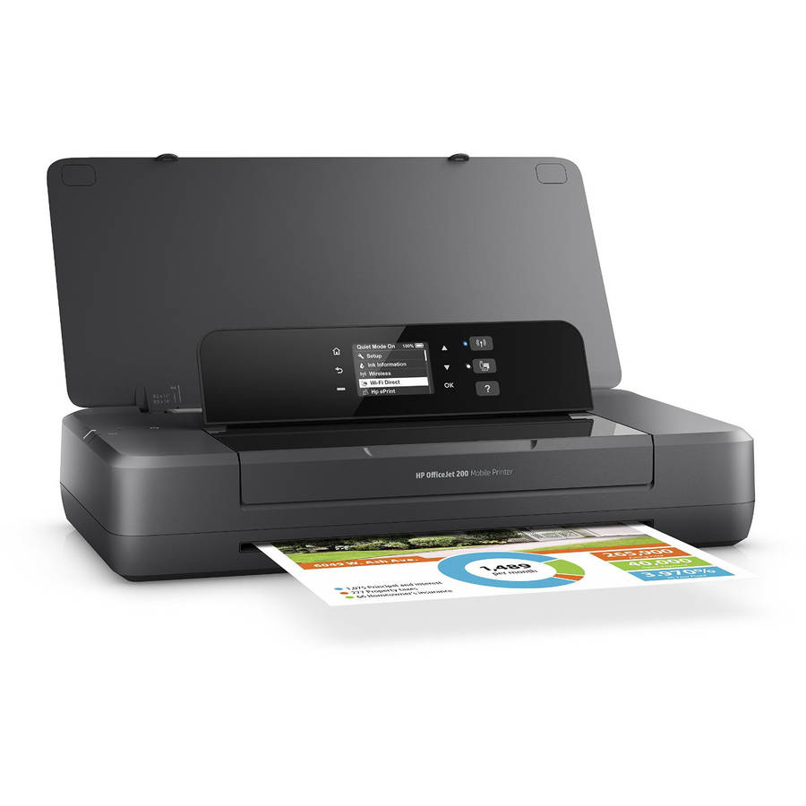 HP Officejet 200 Mobile Printer printer color ink-jet by HP