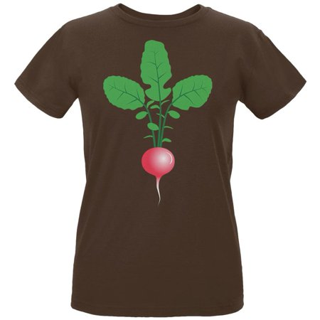 Halloween Vegetable Radish Costume Womens Organic T Shirt](Vegetable Ideas For Halloween)