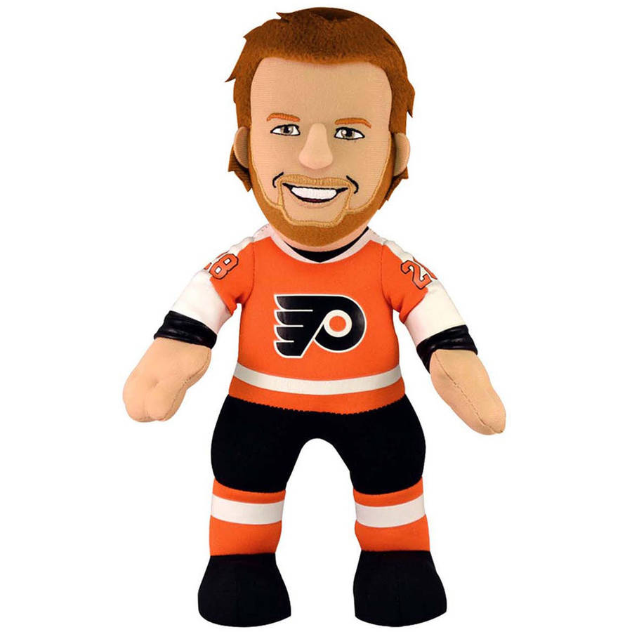 10 IN Plush Bleacher Creature Philadelphia Flyers Claude Giroux