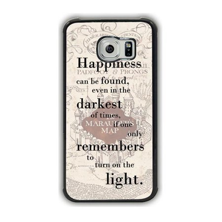 Harry Potter Map And Quote Galaxy S6 Case for $<!---->