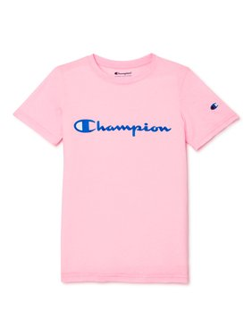 Champion Boys Signature Short Sleeve Graphic Athletic T-Shirt, Sizes 8-20