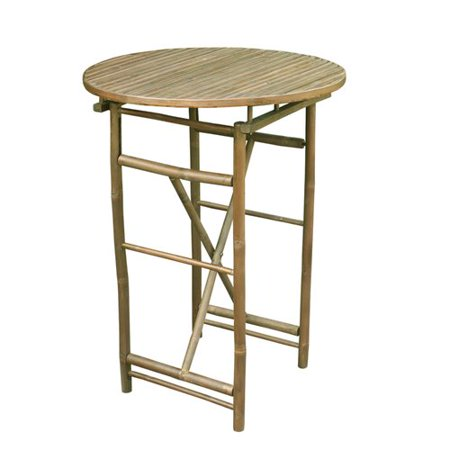 - Bloomsbury Market Kalwarski  Folding    Solid Wood  Bar Table