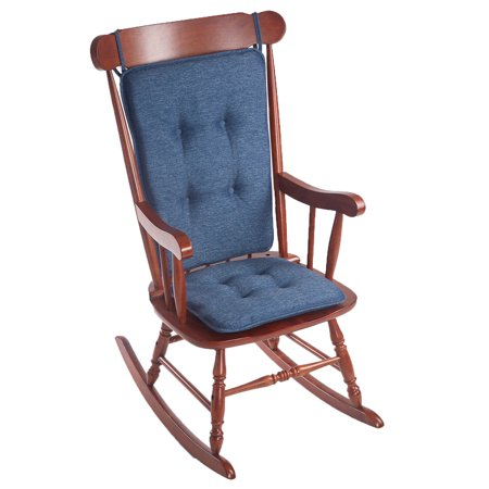 Gripper Non-Slip Empire Rocking Chair Cushion Set