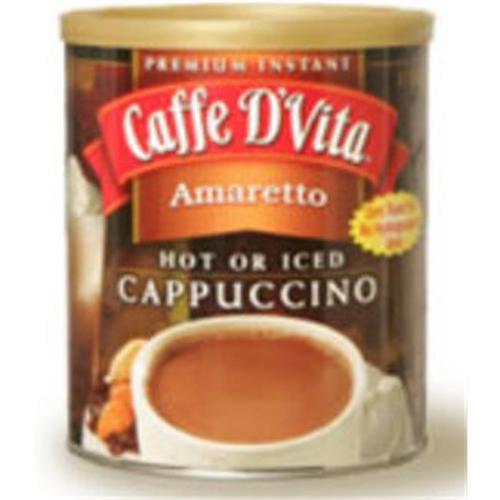 Caffe DVita F-DV-1C-06-AMAR-21 Amaretto Cappuccino 6 1lb canisters