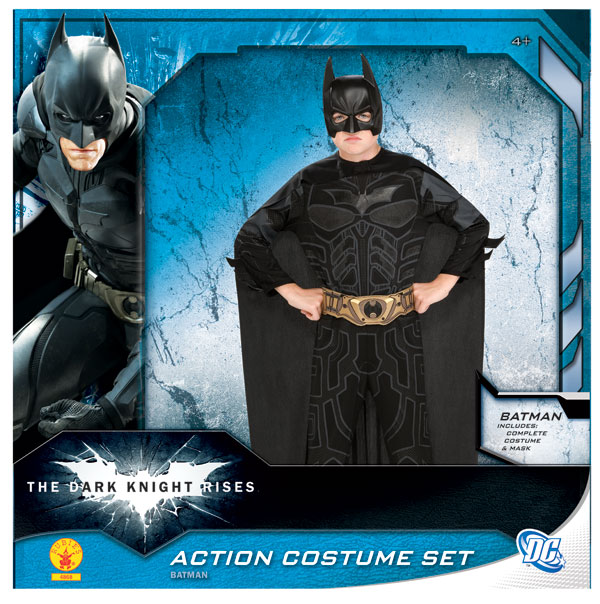 DOLLHOUSE MINIATURE ~ HALLOWEEN BATMAN COSTUME BOX