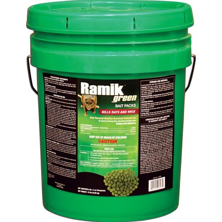 Ramik Green Rat And Mouse Poison Pellet Bait Packs