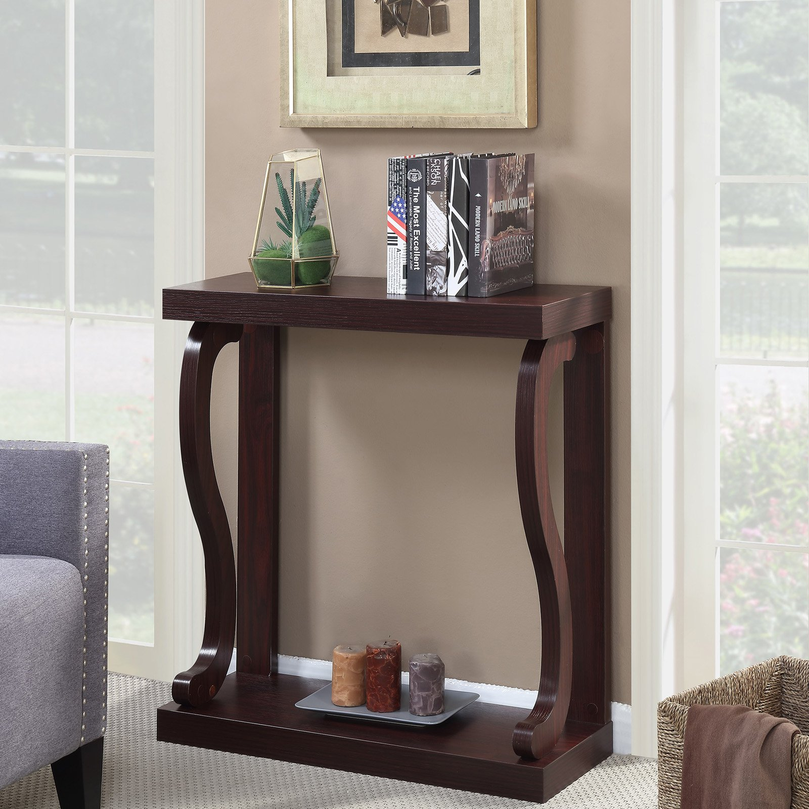 Convenience Concepts Newport Gramercy Rectangle Console Table by Convenience Concepts Inc