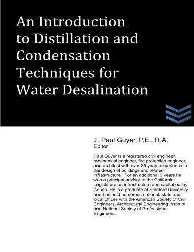 An Introduction to Distillation and Condensation Techniques for Water Desalination by