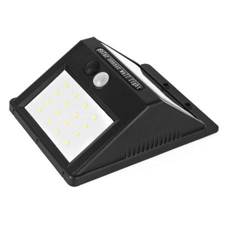 3Pcs LED Solar Light PIR CDS Motion Sensor Lamp 16 LEDs 80lm Waterproof Wireless - image 1 of 8
