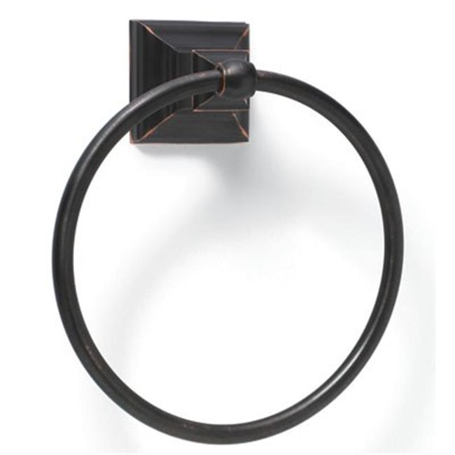 Amerock Abh26511 Orb Markham Towel Ring - Oil Rubbed Bronze