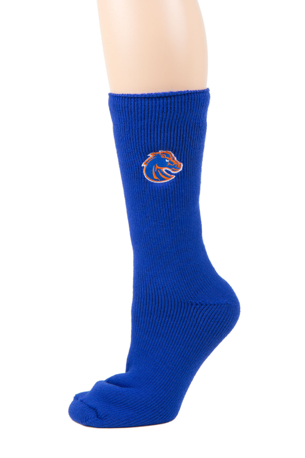 Boise State Broncos Blue Thermal Sock by Donegal Bay