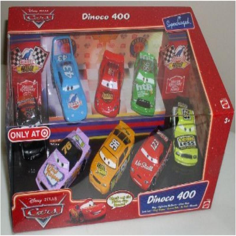 Mattel Disney Pixar Cars Dinoco 400 8-pc Cars Collector Set by