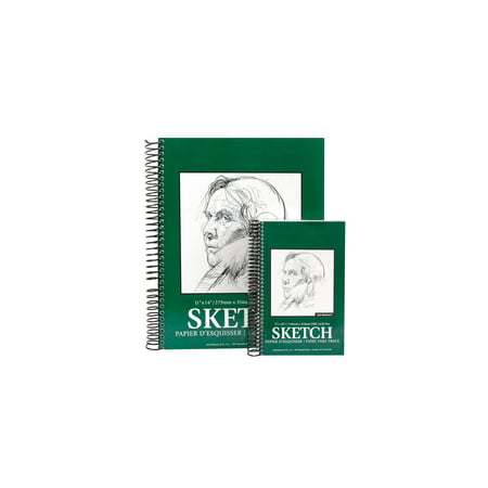 Jack Richeson Sulphite Sketch Pad, 5-1/2 x 8-1/2 Inches, 60 lb, 100 Sheets