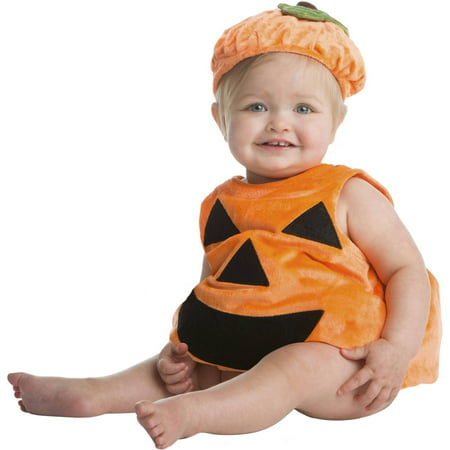 Halloween Infant Pumpkin Bubble Halloween Costume - Pumpkin Infant Halloween Costume