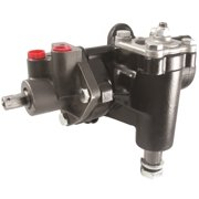 Borgeson 800128 Power Steering Box; Remanufactured; Delphi 600 Series; w/17MM Double D Input Shaft; 14:1 Quick Ratio;