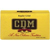 CDM Coffee & Chicory Regular Grind Ground Coffee, 13 Oz.