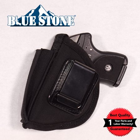 Bluestone Special Ops Ruger LCP IWB Holster with Mag Inside waistband holster for Ruger LCP, Glock 42, S Shield IWB holster Ruger LCP IWB holster Glock 42 Black, Left Hand