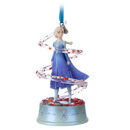 Disney 2019 Elsa Singing Frozen 2 Sketchbook Christmas Ornament New with Tag ()