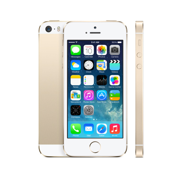 Apple (Cracked) iPhone 5s - 16GB - Gold (Sprint) Smartpho...