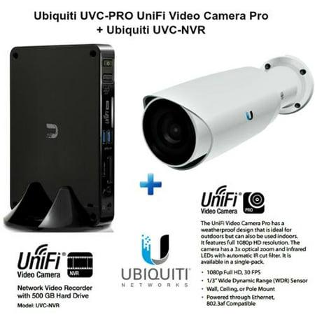 Ubiquiti UVC-PRO UniFi Video Camera Pro + Ubiquiti UVC-NVR airVision-C NVR