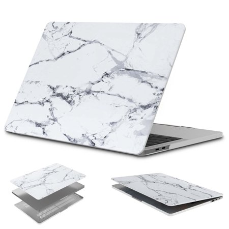 Njjex Laptop Case for MacBook Pro (W/O USB-C) Retina 13 Inch (A1502/A1425)(W/O CD-ROM) Release 2015/2014/2013/end 2012, Plastic Hard Hard Case Shell Cover, White