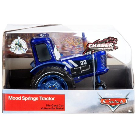 Disney Cars Chaser Series Mood Springs Tractor Diecast Car